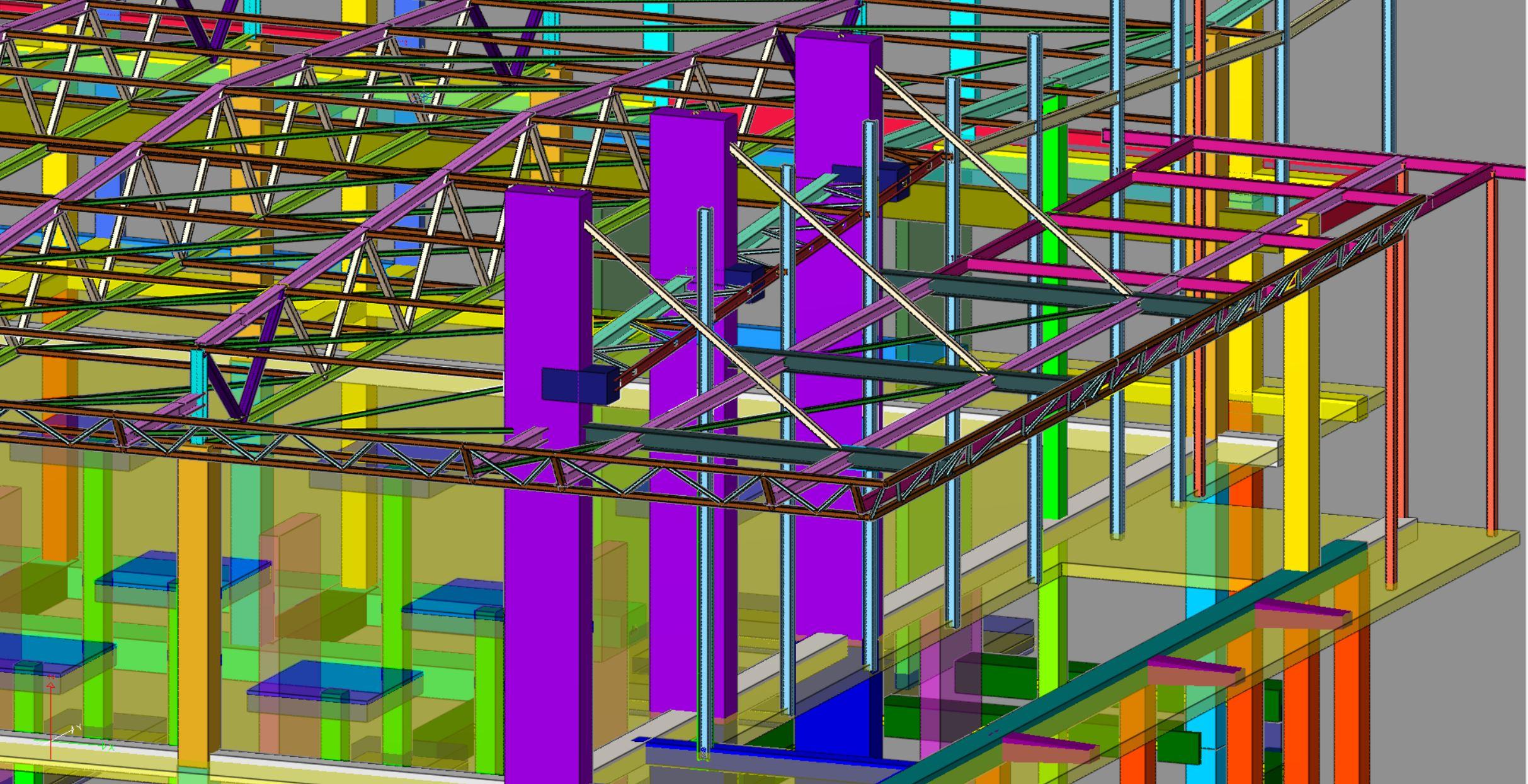 3D моделиране на строителни конструкции